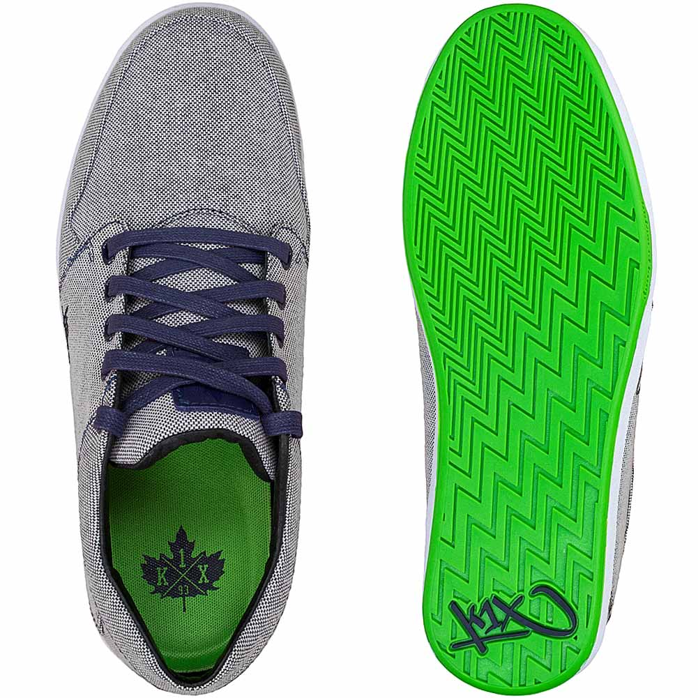 Sneaker low - navy/lime