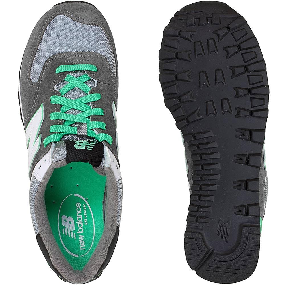 new balance 574 grau grün