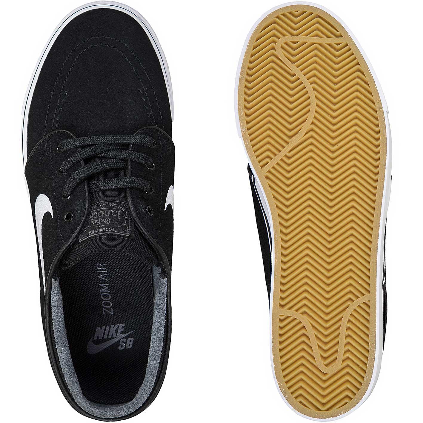 Nike SB Sneaker Air Zoom Stefan Janoski schwarzweiß