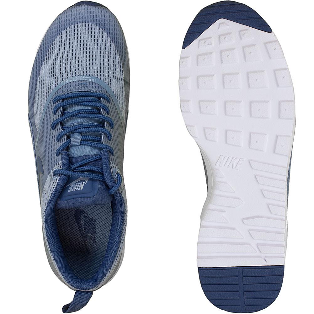 nike damen sneaker air max thea textile blau grau hier. Black Bedroom Furniture Sets. Home Design Ideas