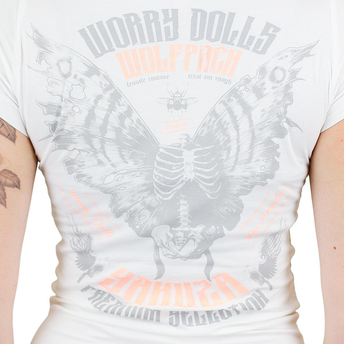Yakuza Premium Damen T-Shirt 2333 weiß