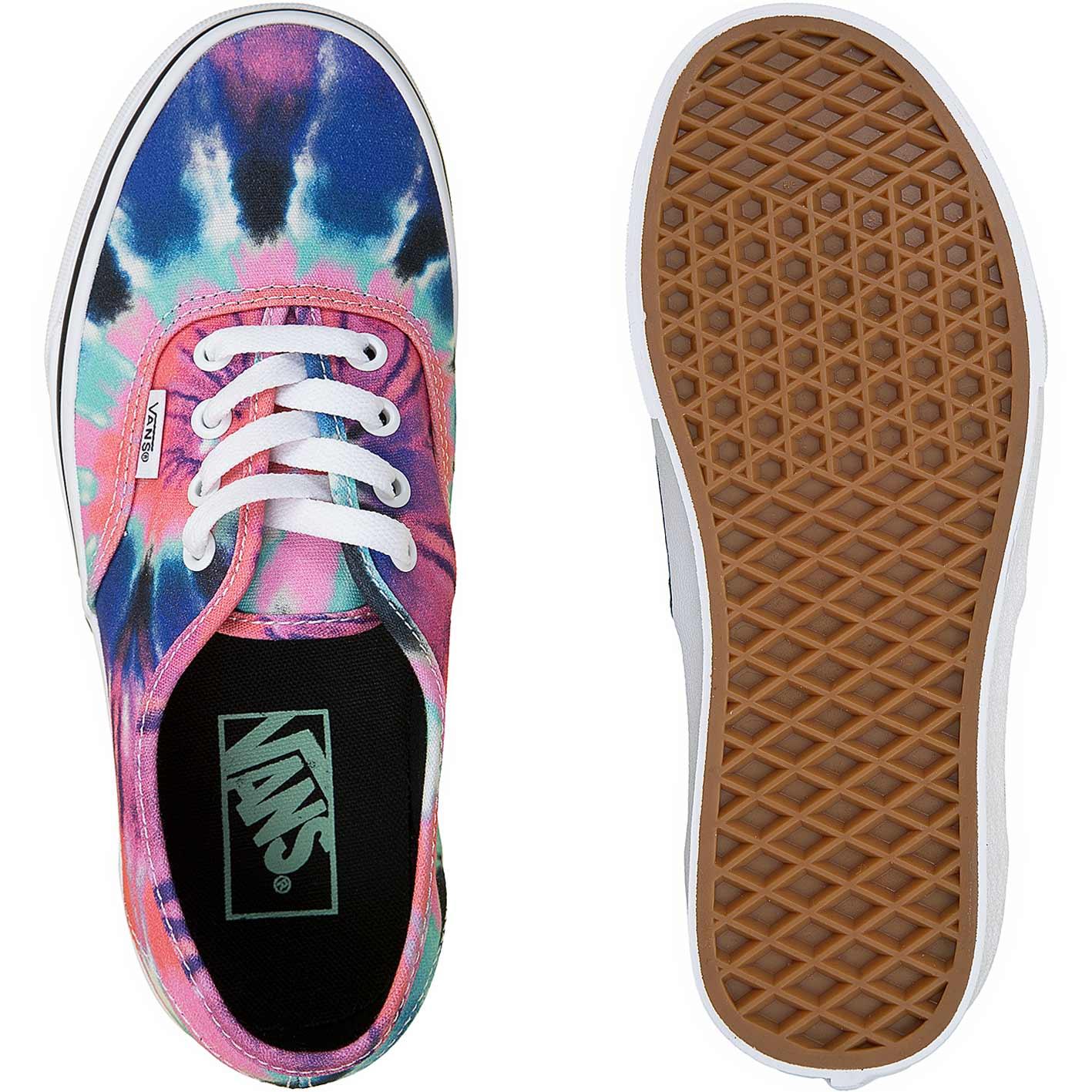Vans Damen Sneaker Authentic Tie Dye multiweiß