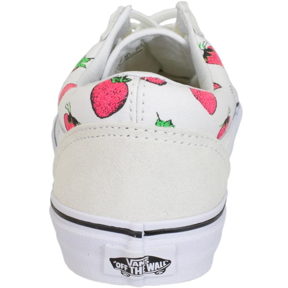 Vans Damen Sneaker Old Skool Strawberry Wei 223 Hier Bestellen