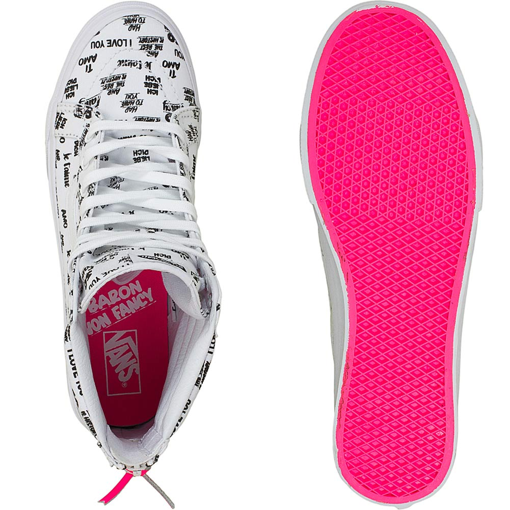 vans damen slim zip