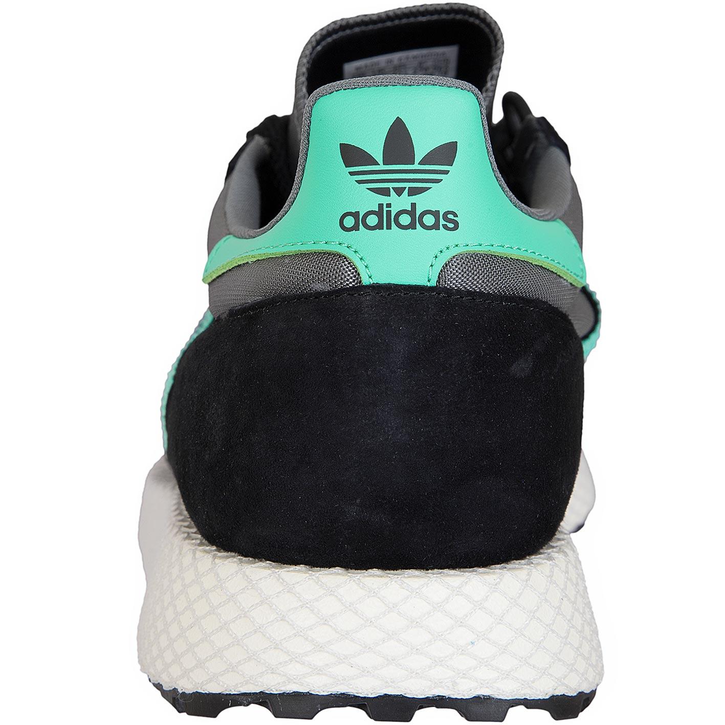 3338258caf91 ☆ Adidas Originals Sneaker Forest Grove schwarz türkis - hier ...