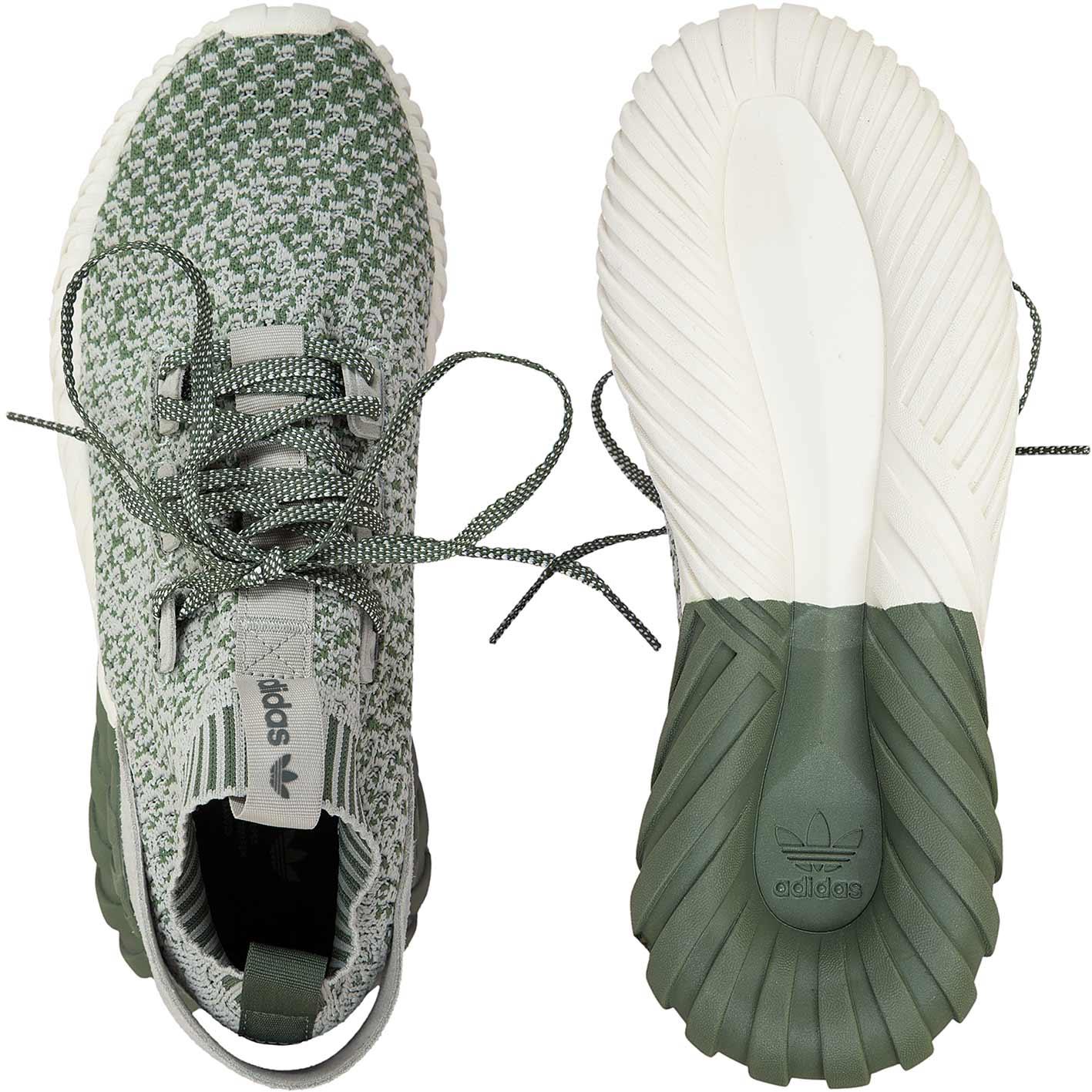 Adidas Originals Sneaker Tubular Doom Sock grüngrau