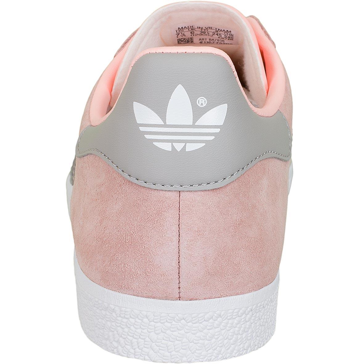 new styles 31a22 3d347 Adidas Originals Damen Sneaker Gazelle rosa/grau