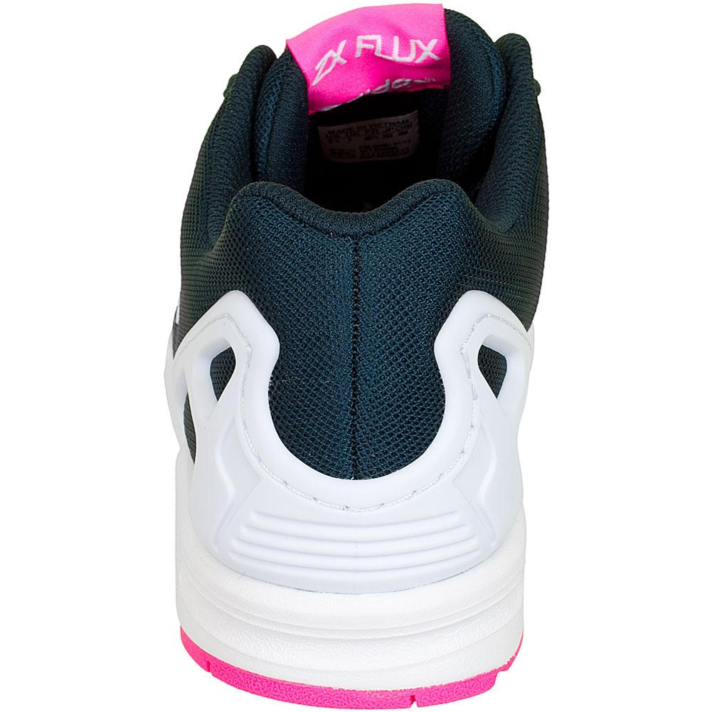 adidas zx flux schwarz weiß pink