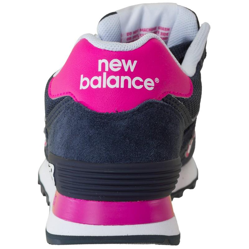 New Balance Grau Pink Blau