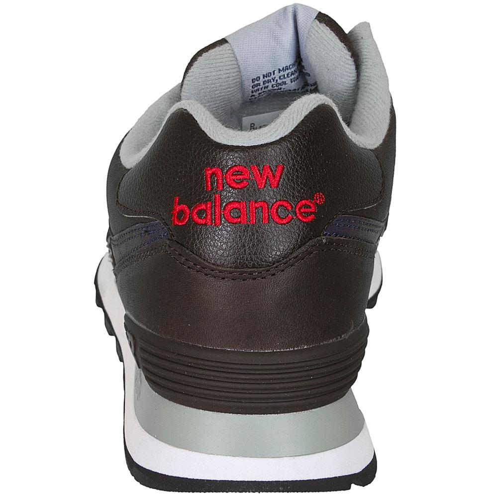 new balance 574 leder braun