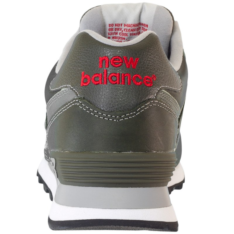 new balance ml574 oliv