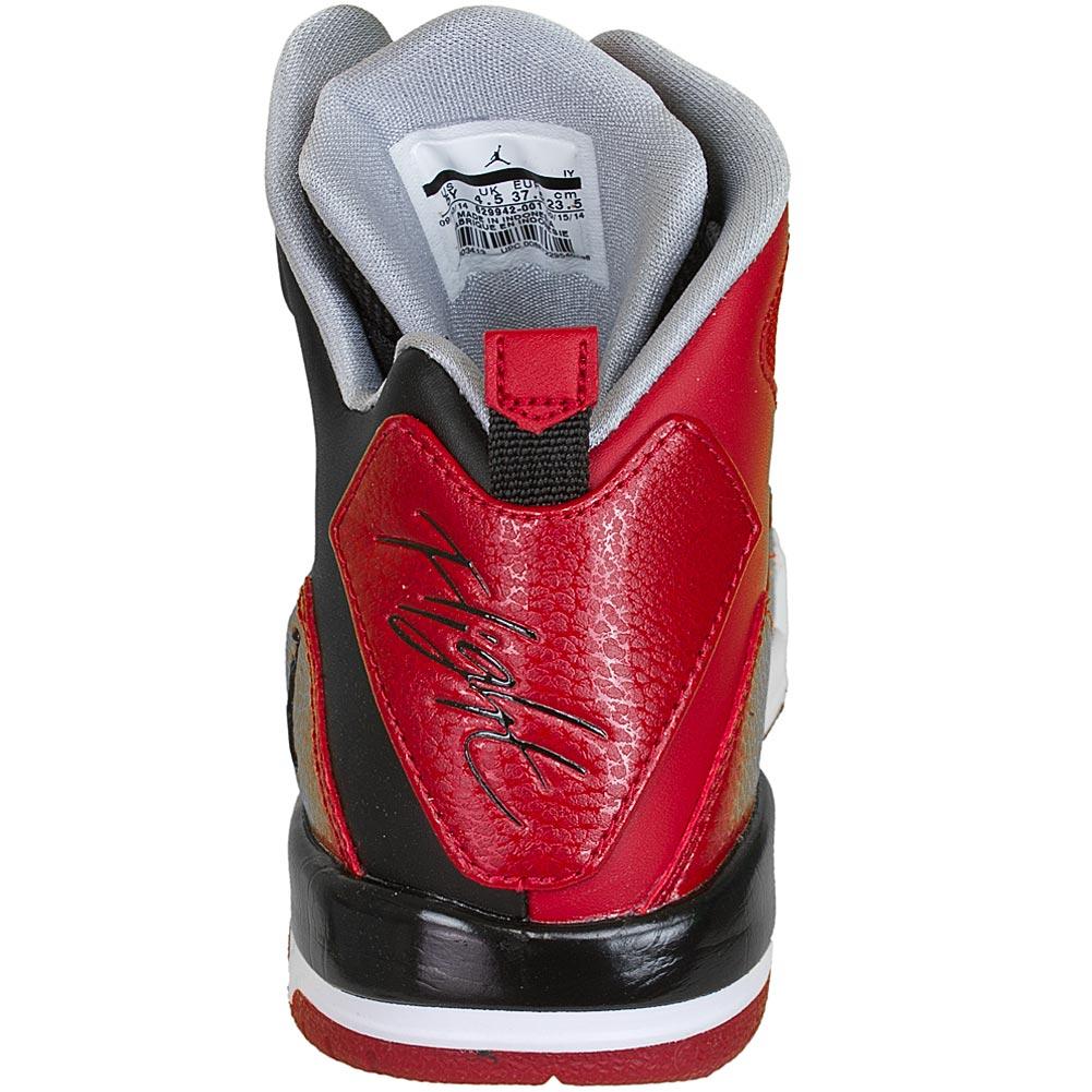Nike Jordan Rot Grau