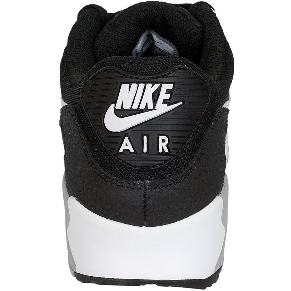 nike damen sneaker air max 90 essential schwarz wei grau. Black Bedroom Furniture Sets. Home Design Ideas
