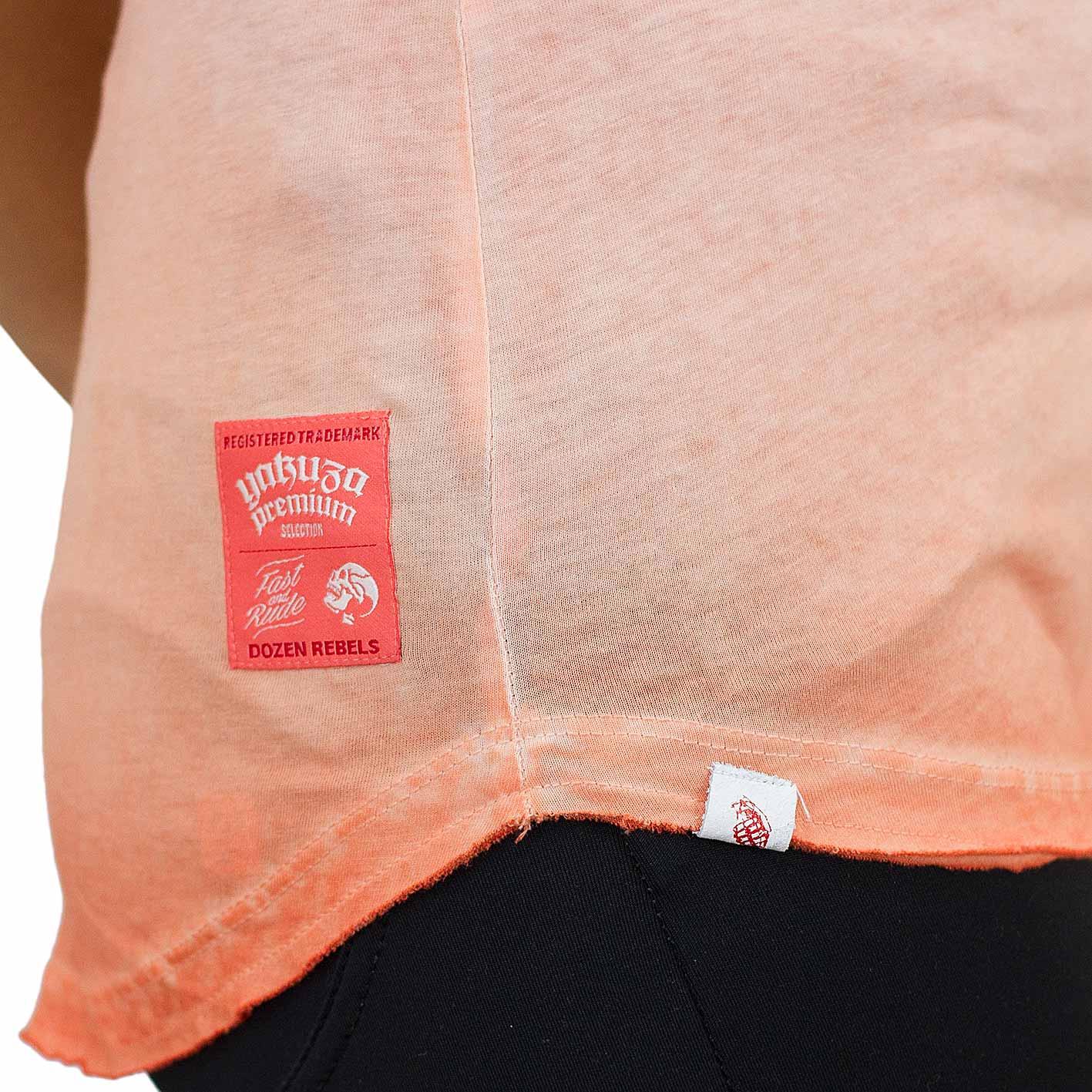 yakuza premium damen t shirt 2438 orange hier bestellen. Black Bedroom Furniture Sets. Home Design Ideas