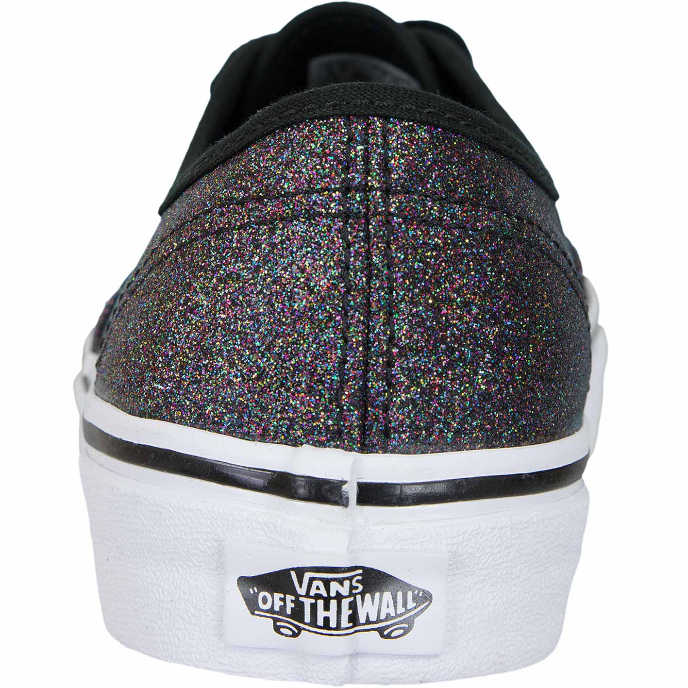 ☆ Vans Damen Sneaker Authentic Glitter rainbow schwarz