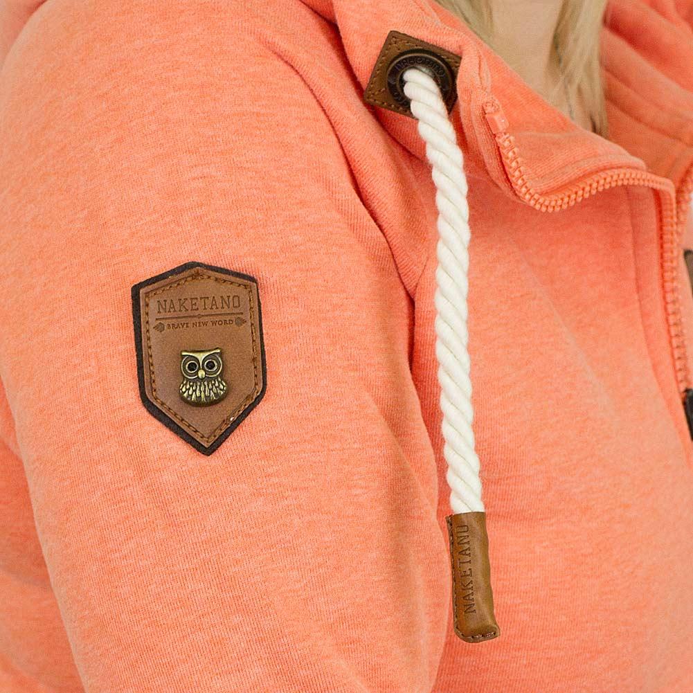 naketano damen zip hoodie blonder engel orange hier bestellen. Black Bedroom Furniture Sets. Home Design Ideas