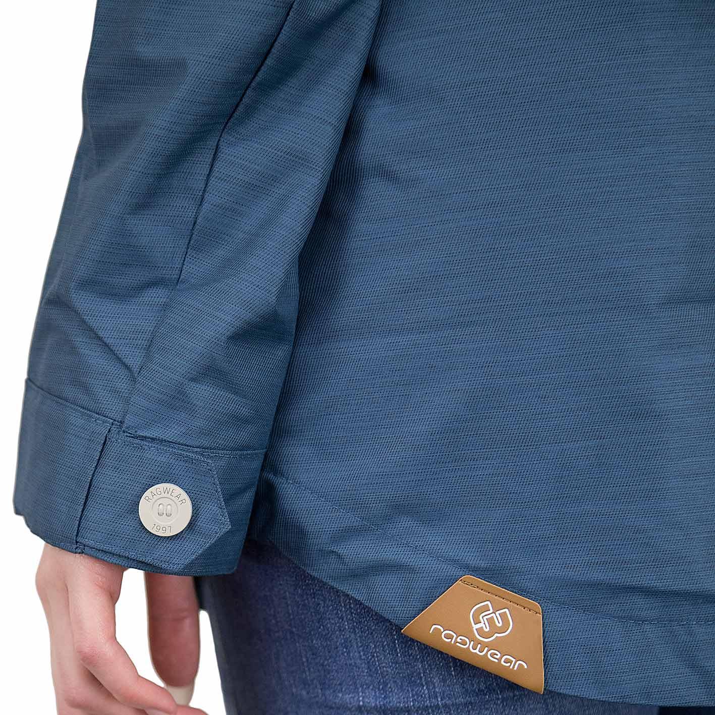 super cute a2b6c b951a Ragwear Damen-Jacke Jewel blau